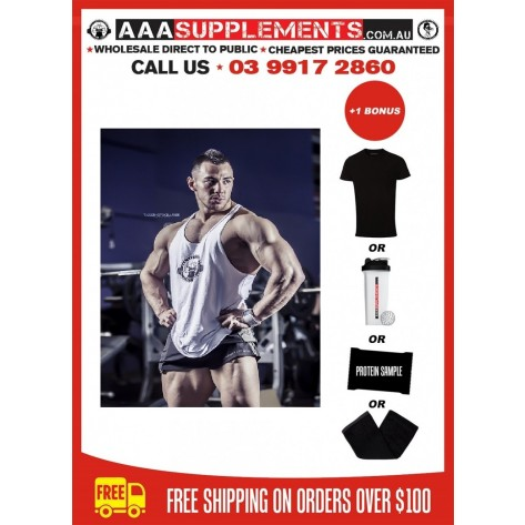 AAA 2014 T-Back Singlet (100% Cotton)