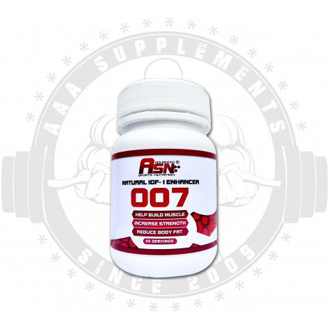 ASN SPORTS NUTRITION | 007 | NATURAL IGF-1 ENHANCER | 60 SERVINGS