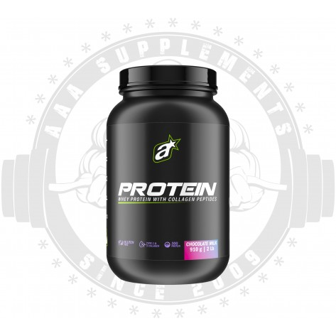 ATHLETIC SPORT - WHEY PROTEIN WITH COLLAGEN PEPTIDES (20 SERVE) (910G)