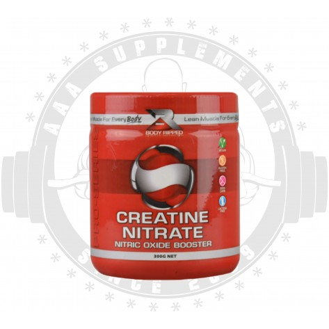 BODY RIPPED - CREATINE NITRATE [300g](150 SERVE)