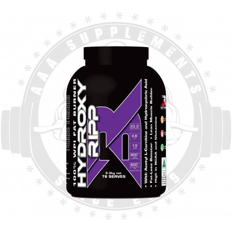 BODY RIPPED - HYDROXY RIPP 100% WPI FAT BURNER (2.3KG)(76 SERVE)