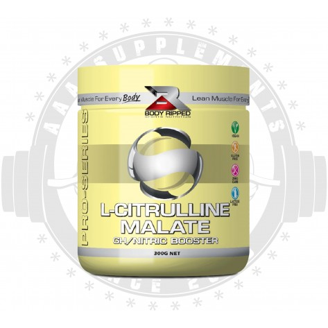 BODY RIPPED - L-CITRULLINE MALATE (150 SERVE) (300G)