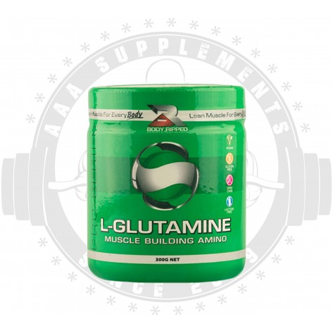 BODY RIPPED - L-GLUTAMINE (100 SERVE)