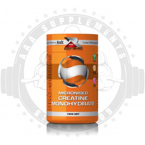 BODY RIPPED - MICRONISED CREATINE MONOHYDRATE (33 SERVE)