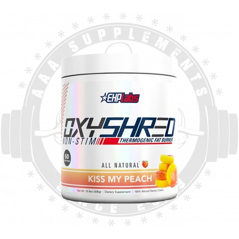 EHP LABS | OXYSHRED|  -60 SERVE- **NON-STIM** 306g