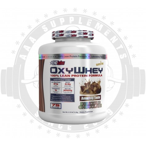 EHP LABS - OxyWhey (5.3lbs)[2.4kg][75 SERVE]