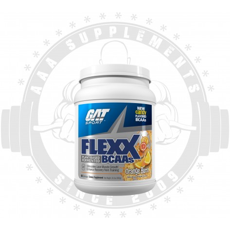 GAT | FLEXX | PLANT FERMENTED BCAA | 60 serve | 690 Grams