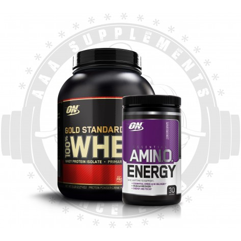 OPTIMUM NUTRITION -  ON WHEY AMINO STACK