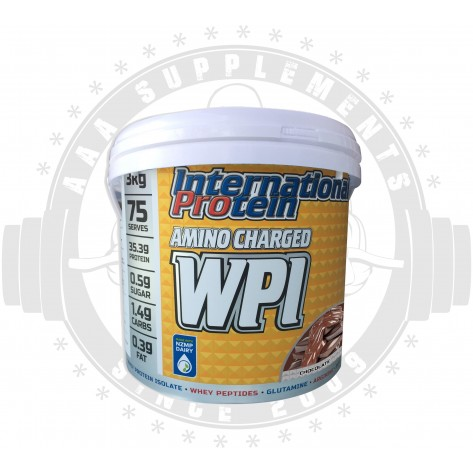 International Protein | Amino Charged WPI | 3kg