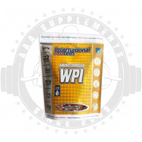 International Protein | Amino Charged WPI | 907g