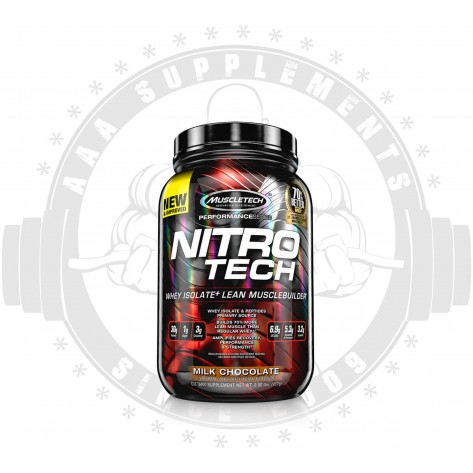MUSCLETECH - NITRO-TECH 900g | 2LBS | 25 SERVES