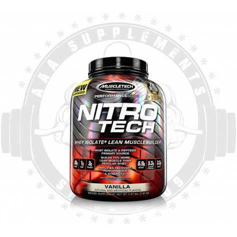 MUSCLETECH - NITRO-TECH 1.8kg | 4lbs | 49 serves