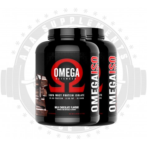OMEGA SCIENCES - 100% WHEY PROTEIN ISOLATE *DOUBLE DEAL*