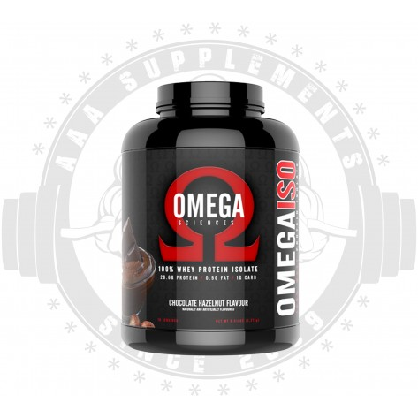 OMEGA SCIENCES - 100% WHEY PROTEIN ISOLATE 2.28KG (70 SERVE)