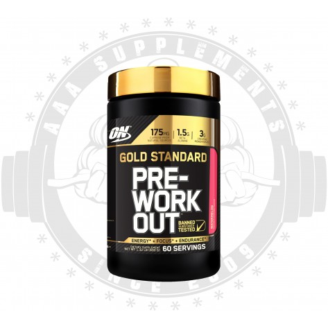 OPTIMUM NUTRITION - GOLD STANDARD PRE-WORKOUT (60 SERVE)