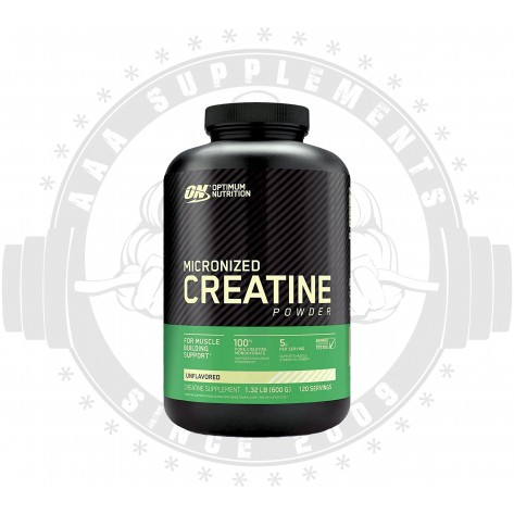 OPTIMUM NUTRITION - MICRONIZED CREATINE 600G (120 SERVE)
