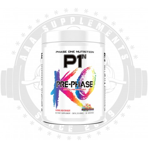PHASE ONE NUTRITION - PRE-PHASE (30 SERVE) *USA*