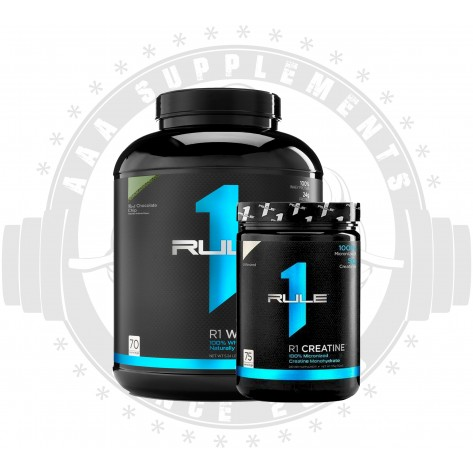 RULE 1 ESSENTIAL STACK (R1 WHEY BLEND + CREATINE)
