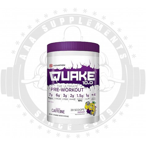 Scivation   Quake 10.0   20 Serve - SHORTLISTED **BEST BY 01/19 REDUCED**