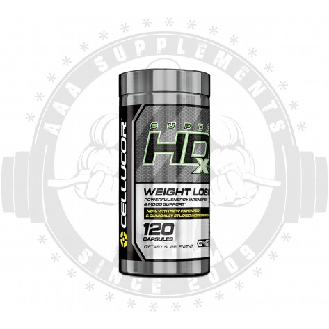 CELLUCOR - SUPER HD XTREME |60 SERVES (120 CAPS) **SHORTLISTED AUG 2019** DISCOUNTED