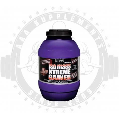 ULTIMATE NUTRITION - Iso Mass Xtreme Gainer 4.5kg