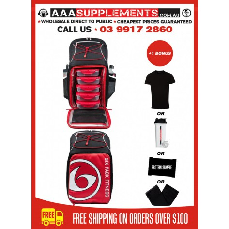 6 Pack Fitness | Pursuit Backpack 500 | Prodigy Series