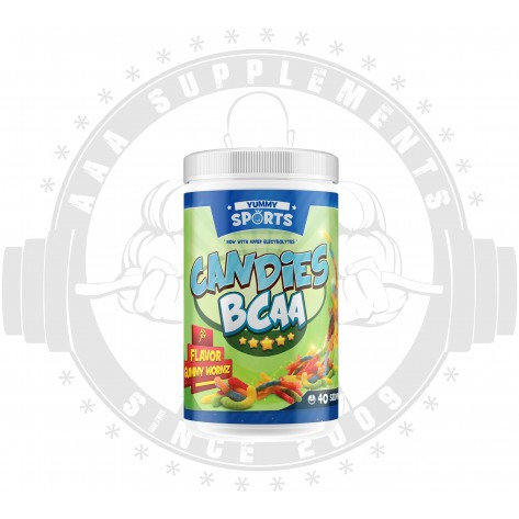 Yummy Sports | Candies BCAA | 40 Serve