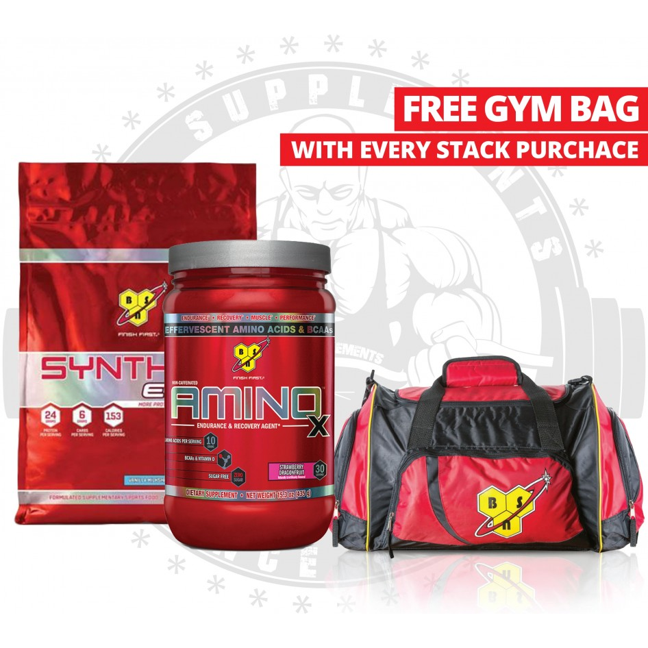 Aaa Supplements Bsn Stack With Free Bsn Bag Best Supplement
