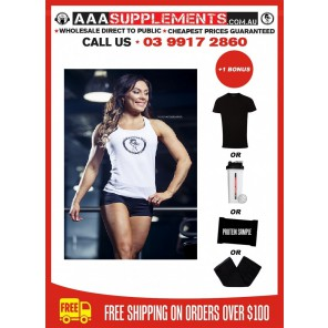 AAA Women's Y-Back Singlet (100% Cotton)