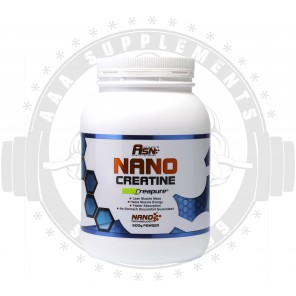 ASN Sports Nutrition | Nano Creatine With Creapure| 166 SERVE (500G)