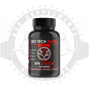 BIO TECH NUTRA - BTN RAZOR | FAT BURNER (60 SERVE) *USA*