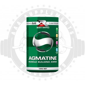 BODY RIPPED - AGMATINE | MUSCLE BUILDING AMINO ACID (100 SERVE)