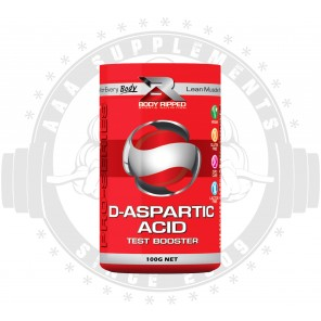 BODY RIPPED - D-ASPARTIC ACID (33 SERVE) (100G)