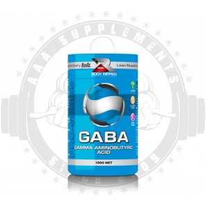 BODY RIPPED - GABA (GAMMA AMINOBUTYRIC ACID) (100 SERVE)