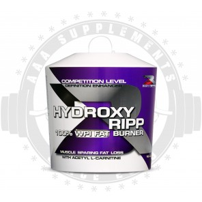 BODY RIPPED - HYDROXY RIPP 100% WPI FAT BURNER (1KG)(25 SERVE)