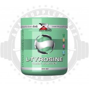BODY RIPPED - L-TYROSINE | NOOTROPIC BRAIN BOOSTER (200 SERVE) (300g) *BEST BEFORE 01/21*