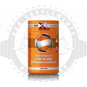BODY RIPPED - MICRONISED CREATINE MONOHYDRATE (166 SERVE)