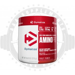 Dymatize | AMINO PRO WITH ENERGY (CAFFEINE FREE)|BCAA| (270G) -30 SERVE- SPECIAL