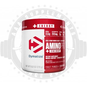 Dymatize | AMINO PRO WITH ENERGY (CAFFEINE)|BCAA| (270G) -30 SERVE- SPECIAL