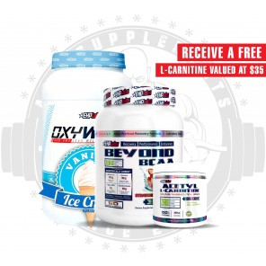 EHP LABS - WELLNESS STACK + FREE ACETYL L-CARNITINE