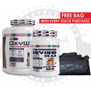 EHP LABS - OxyWhey 5lb and Beyond BCAA 1lb free BAG Stack - Promotion