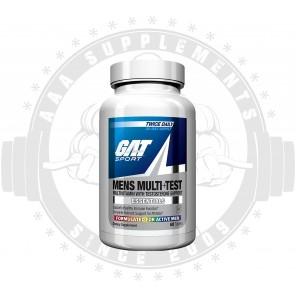 GAT - Men's Multivitamin + Testosterone Support (30 Serve) *BEST BEFORE 09/19*