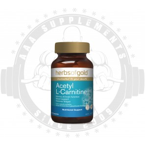 HERBS OF GOLD - Acetyl L-Carnitine 60 Caps