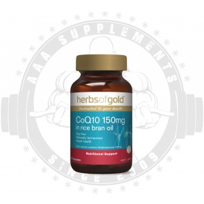 HERBS OF GOLD - Co Q10 150mg 60 Caps