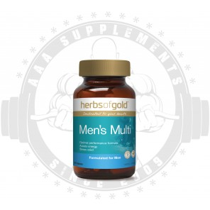 HERBS OF GOLD | Men's Multi | 30 Caps