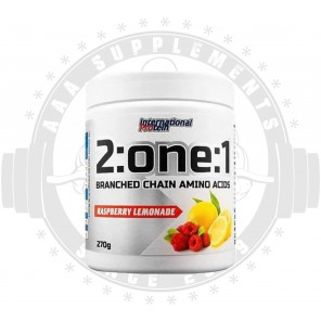 INTERNATIONAL PROTEIN | 2:ONE:1 | BCAA | -27 SERVES- | 270 GRAMS