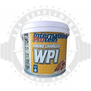 INTERNATIONAL PROTEIN - AMINO CHARGED WPI (75 SERVE) (3KG)