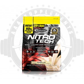 MUSCLETECH - NITRO-TECH 4.KG (100 SERVE)
