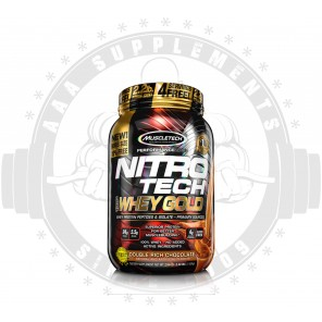 MUSCLETECH | NITRO-TECH 100% WHEY GOLD | 2.5lb