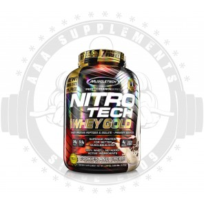 MUSCLETECH | NITRO-TECH 100% WHEY GOLD | 5.5lb